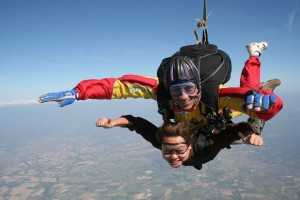 Nellie Skydiving
