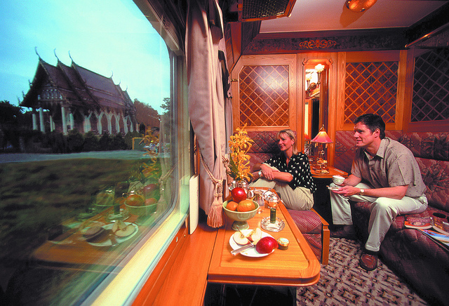 Eastern Oriental Express - Carriage with fanciful view