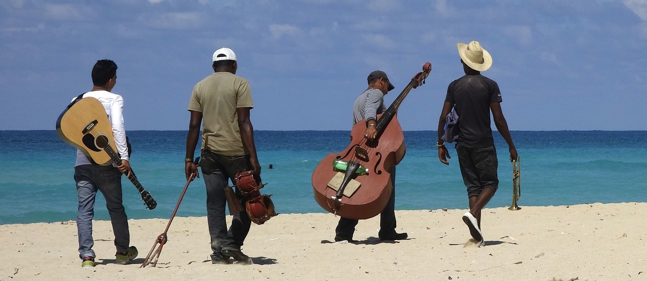 Cuban beach music