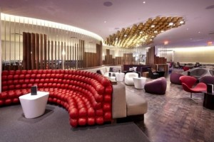 The Virgin Atlantic JFK Clubhouse