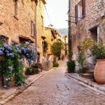 cobbled streets of provence south of france