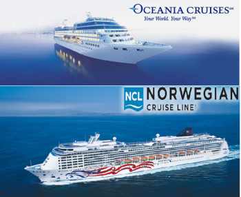 Oceana and Norweigian cruises