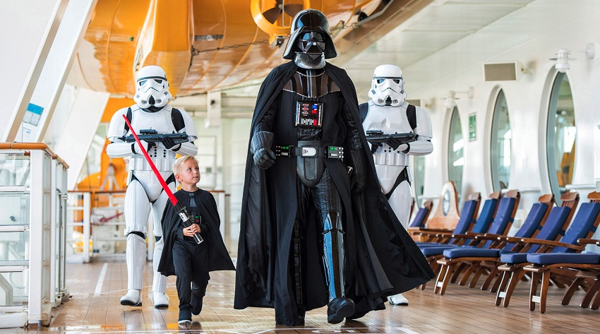 Stars Wars Day at Sea