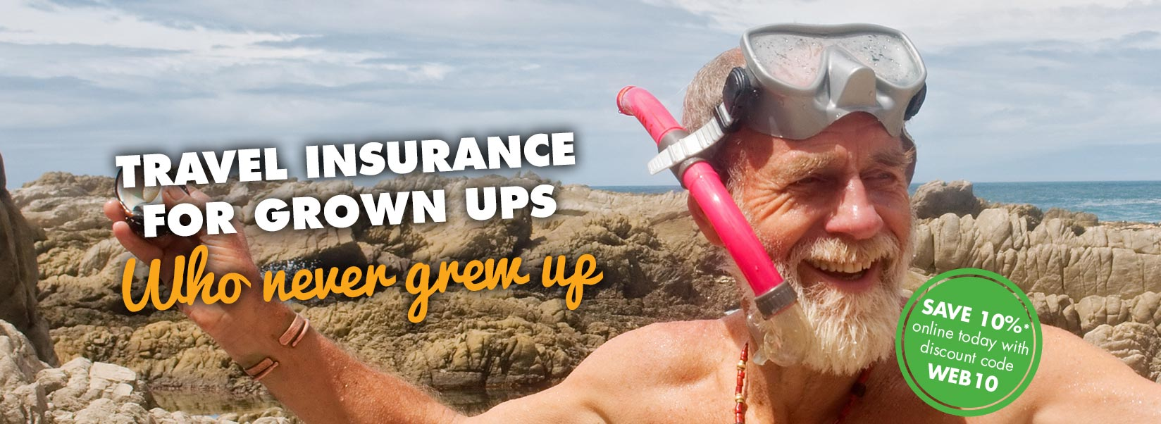 Travel insurance for grown ups who never grew up