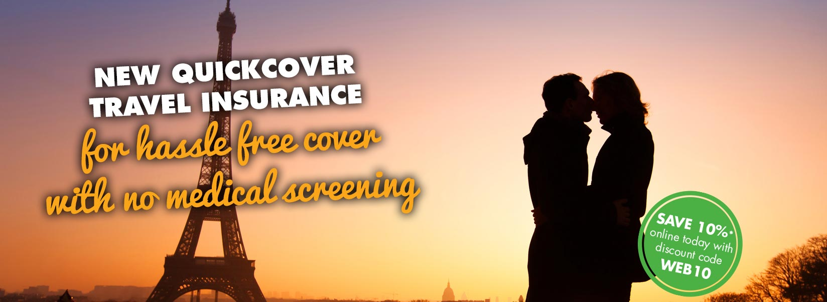 QuickCover travel insurance