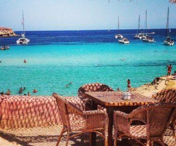 Ibiza beach cafe