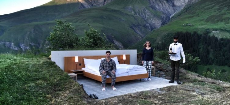 Want To Sleep Under The Stars? Head to Switzerland This Summer!
