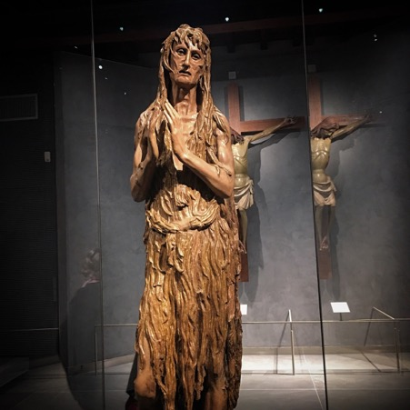 Image of the Penitent Magdalene by Donatello