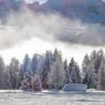 active holiday, skiing, snow