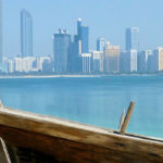 Image of Dubai Skyline and beach