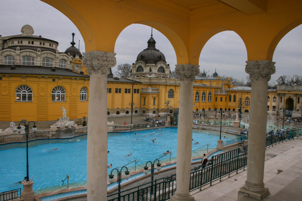 image of spa in budapest