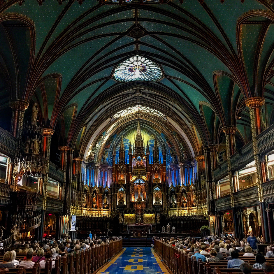 Notre Dame Basilica, in Old Montreal