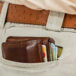 Image of wallet in pocket