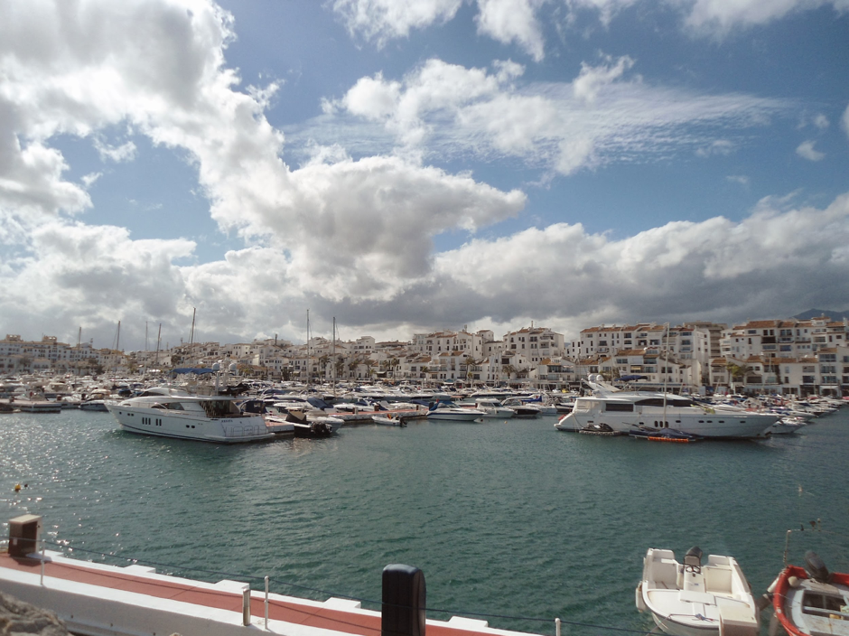 Image of port in Puerto Banus, Marbella, Spain