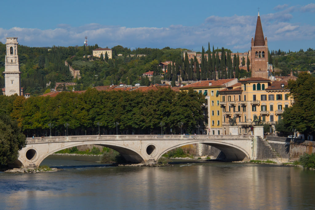River Adige, Verona Italy