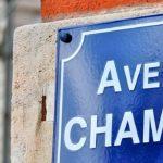 Image of Avenue de Champagne street sign