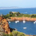 Image of coast in French Riviera