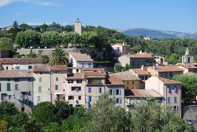 Image of village Tourettes, France
