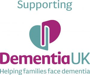 Supporting Dementia UK Logo