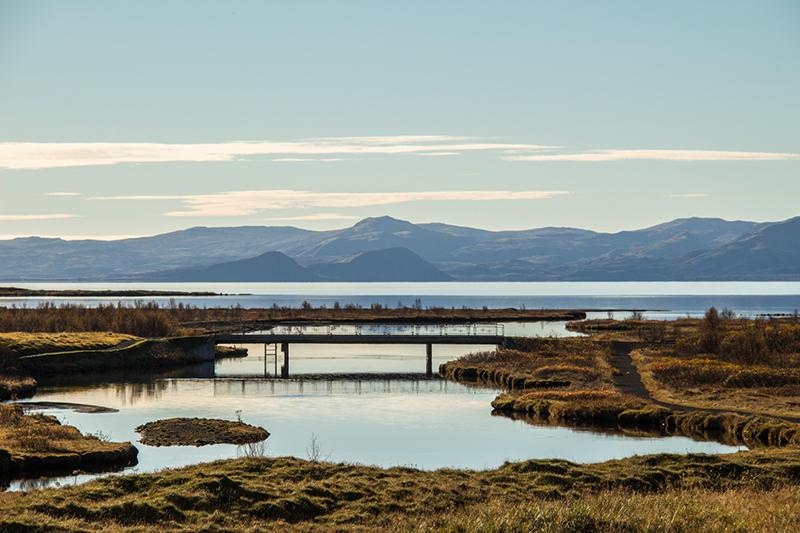 Image of Pingvellir landscape in Iceland