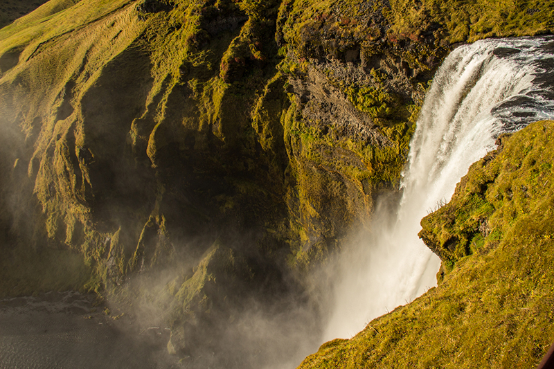 Image of Skógafoss waterfall in Iceland