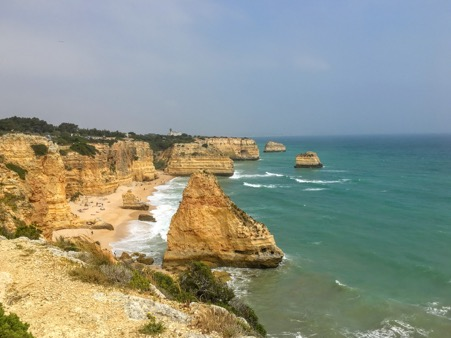 image of Algarve coast in Portugal