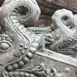 Image of dragon statue in Nepal