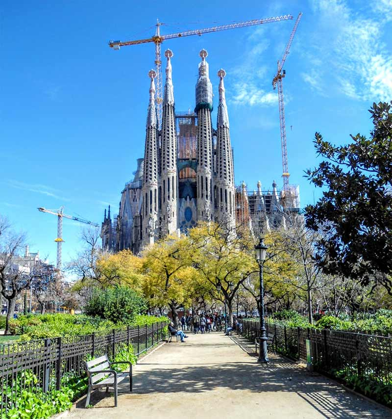 Image of Sagrada Familia in Barcelona