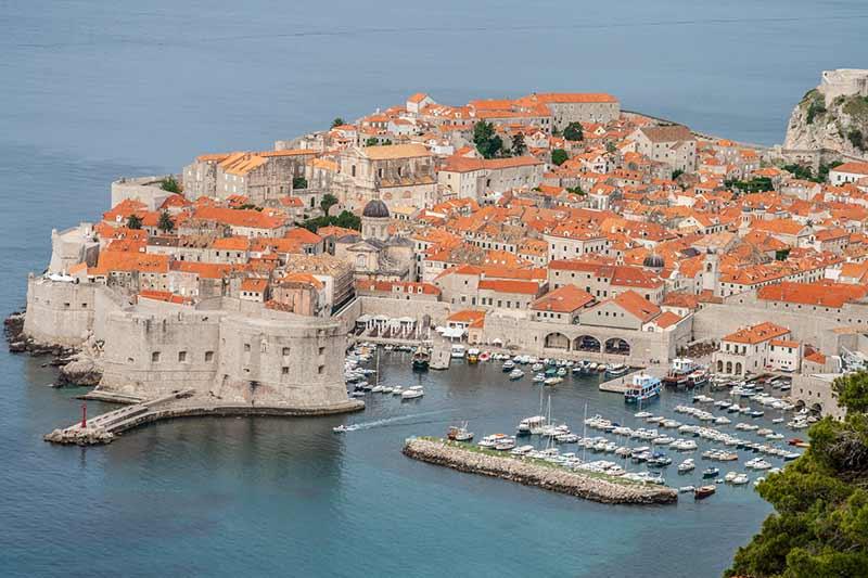 Image of the City of Dubrovnik in Croatia