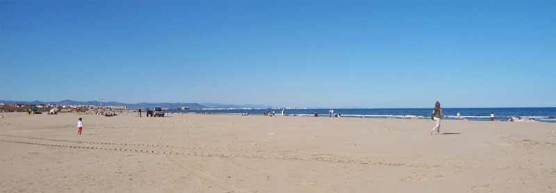 Image of beach in Valencia