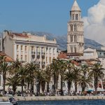 Image of River of Split Waterfront in Croatia