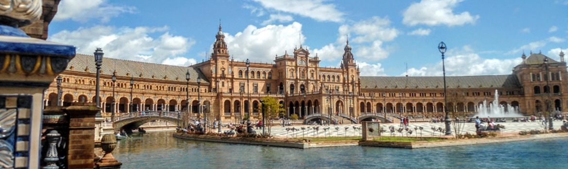 Image of Plaza de Espana in Seville