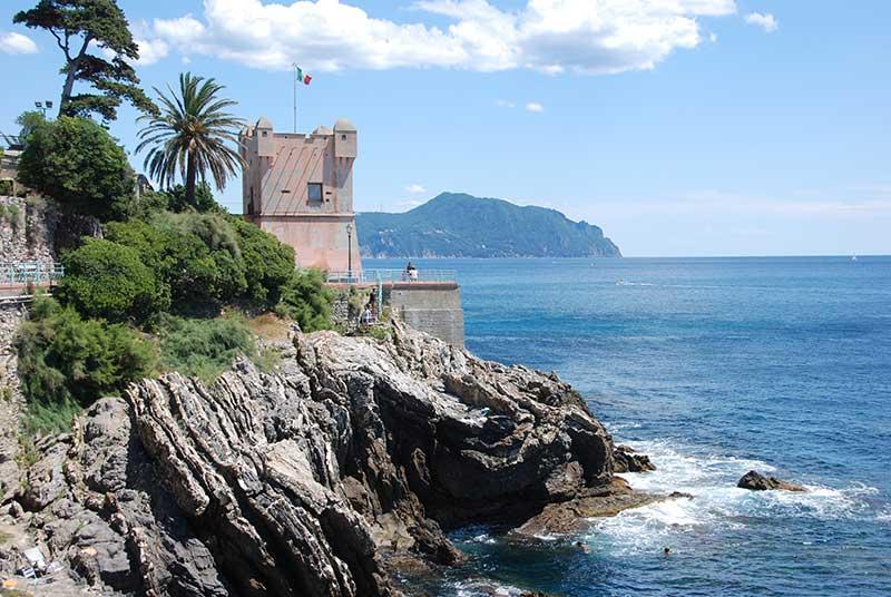 Image of Nervi promenade, Passeggiata