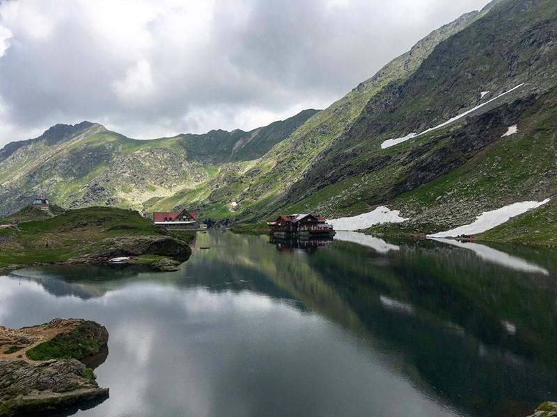Image of The Balea Lake