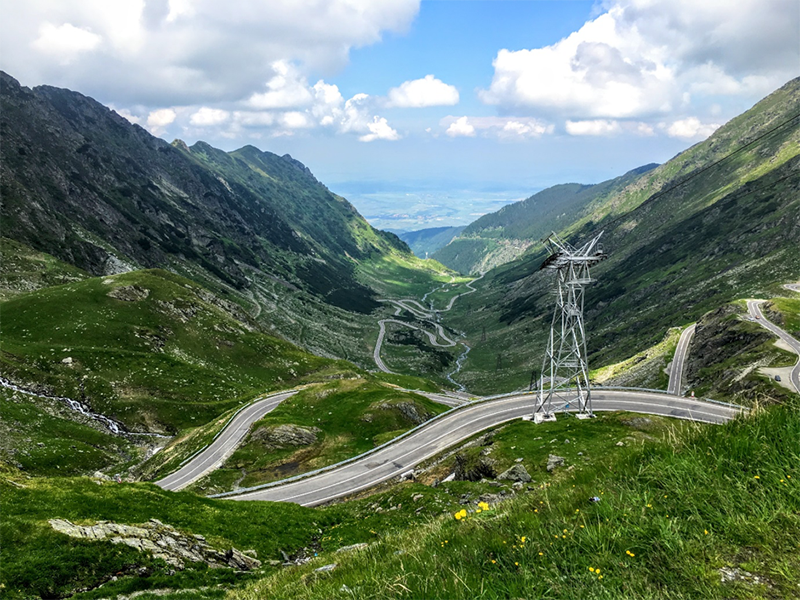 Image of the The Transfagarasan Highway