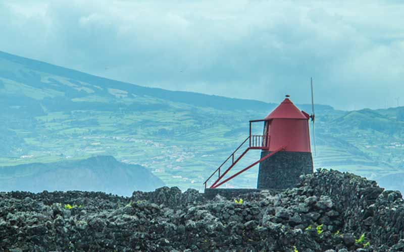 Image of windmill of Pico Island