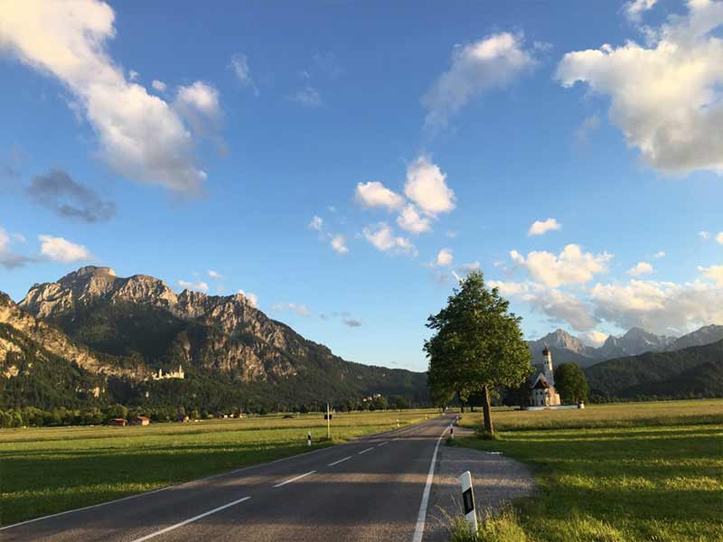 Image of Bavarian landscape