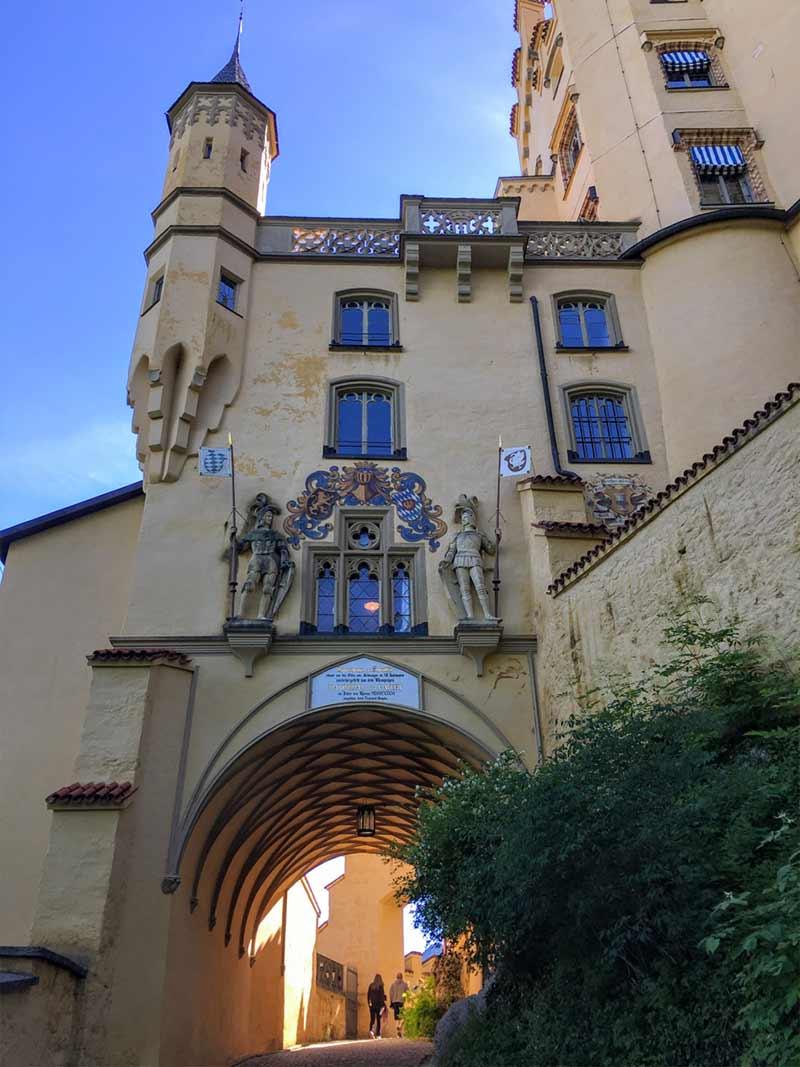 Image of The grounds of Hohenschwangau