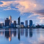 perth skyline and river