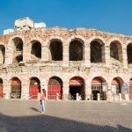 arena di verona in the sunshine