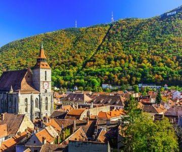 brasov transylvania romania landscape