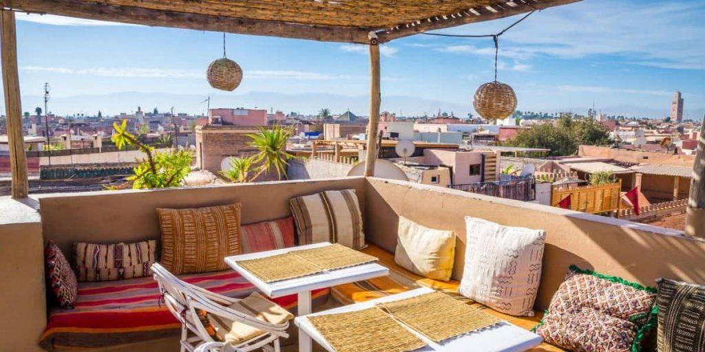 marrakesh views from old medina
