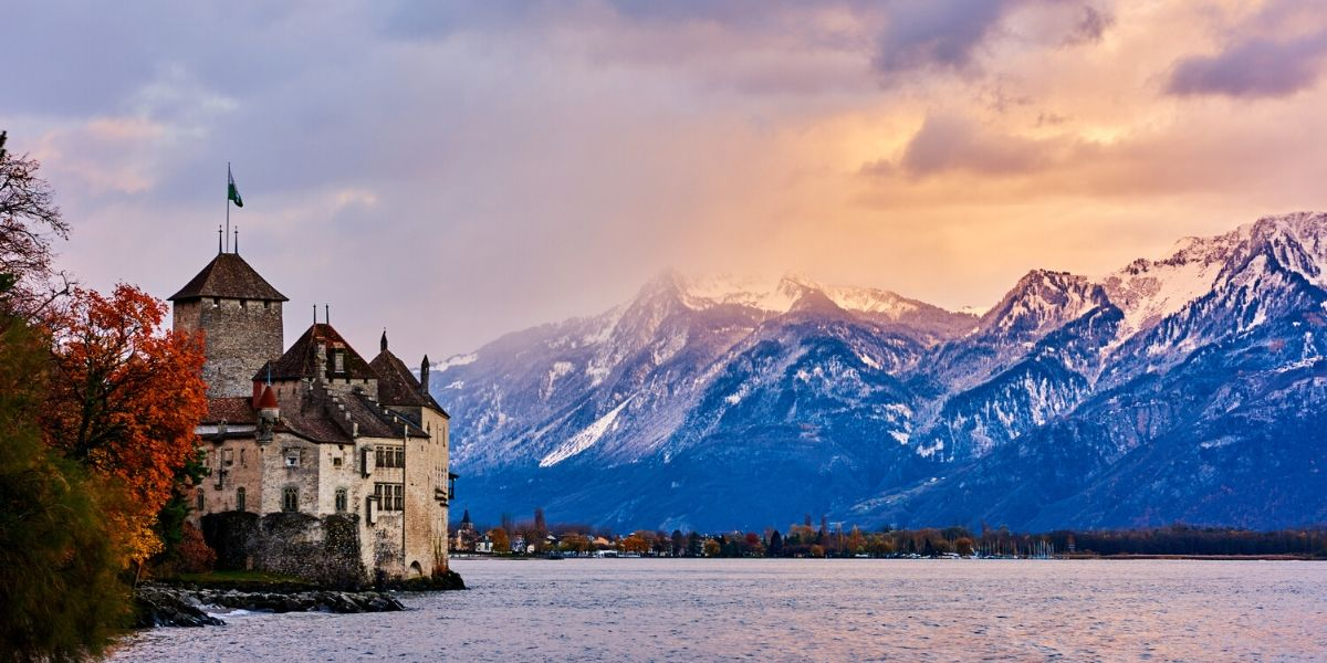 Chateau de Chillon, Geneva Lake, Switzerland