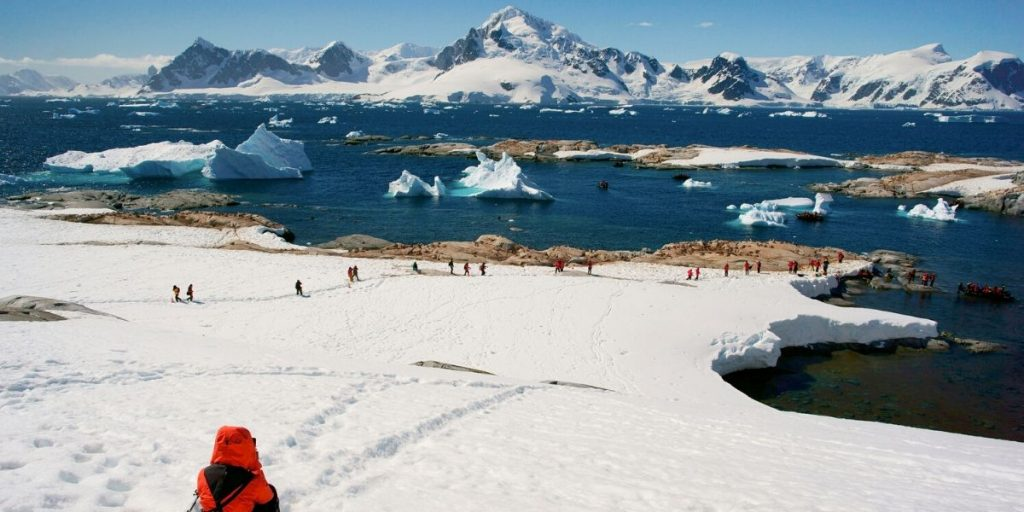 views of Antartica