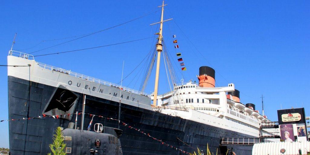 the queen mary ship california