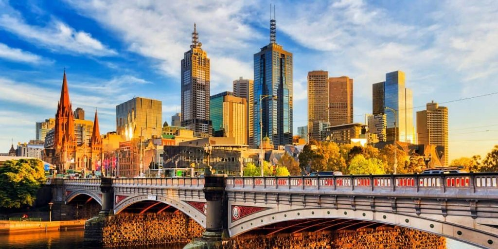 Princes Bridge Melbourne Australia