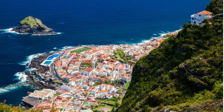 Views of Garachico, Tenerife's original port