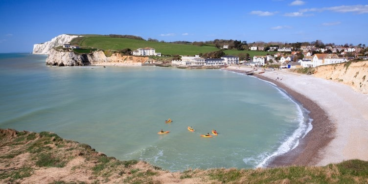 Freshwater Bay on the Isle Of Wight