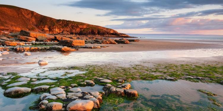 Sunset at Dunraven Bay