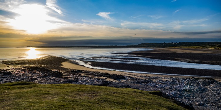Gower Peninsula in South Wales